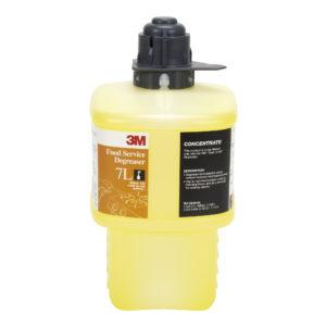 Líquido 7L para sistema Twist & Fill 3M, Desengrasante de cocina , Rinde 465 litros diluidos