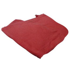 Franela color roja venta por metro