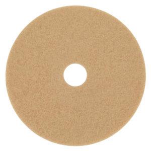 Disco para limpieza, color canela de 19 pulgadas