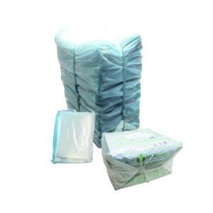 Paquete de bolsa 40 x 60 color natural con 25 kilos