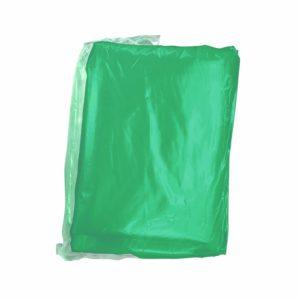 Paquete de bolsa 1.10 x 1.20 color verde con 25 kilos