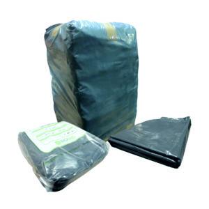 Paquete de bolsa 90 x 1.20 color negra con 25 kilos