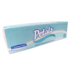 Servilleta barramesa marca Pétalo extra resistente, paquete con 500 piezas