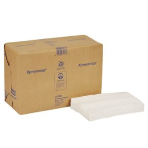 Tork 701342 servilleta Advanced Xpressnap color blanca 25 x16, caja con 12 paquetes de 500 hojas cada uno