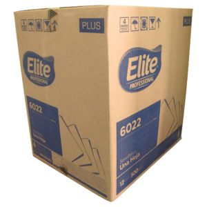 Servilleta barramesa marca Elite, paquete con 500 piezas