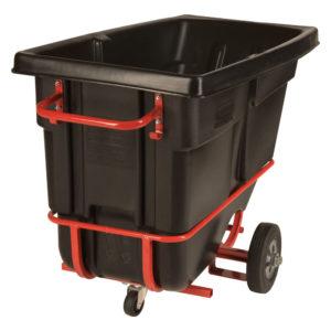 Rubbermaid FG130542BLA carrito de volteo color negro con estructura con capacidad para 850 lbs