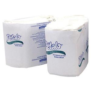 Kimberly Clark 91694 Servilleta Petalo barramesa interdoblada junior color blanca 13 x 30 Petalo, caja con 24 paquetes de 250 hojas cada uno