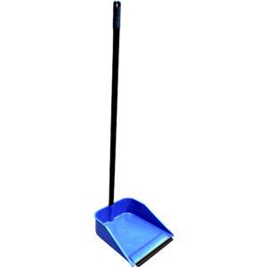 Recojedor color azul con ceja de goma