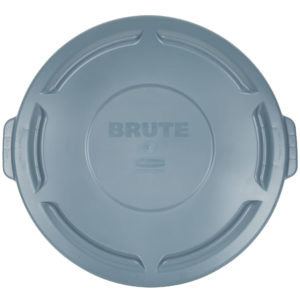 Rubbermaid FG263100GRAY tapa Brute autodrenable color gris, aplica contenedor Bute de 32 galones