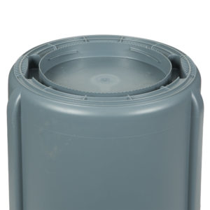 Rubbermaid FG262000GRAY contenedor Brute color gris con capacidad para 20 galones