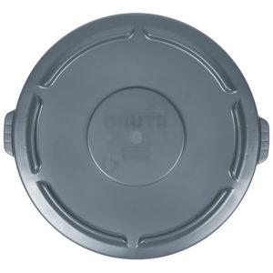 Rubbermaid FG265400GRAY tapa Brute autodrenante color gris, aplica contenedor Brute de 55galones