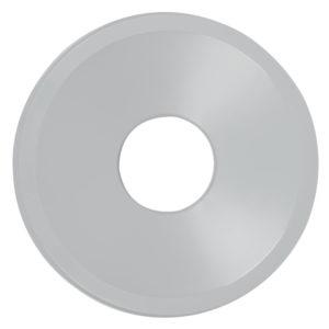 Rubbermaid FG354800GRAY tapa untouchable color gris round funnel top, aplican contenedores FG294700 y FG354600