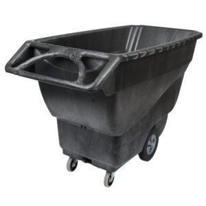 Rubbermaid FG9T1500BLA carrito de volteo color negro con capacidad para 1250 lbs