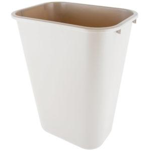 Rubbermaid FG295700BEIG cesto grande con capacidad para  10.3 galones, color beige