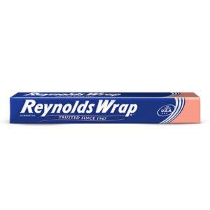 Rollo de papel aluminio marca Reynolds de 7.6 mts