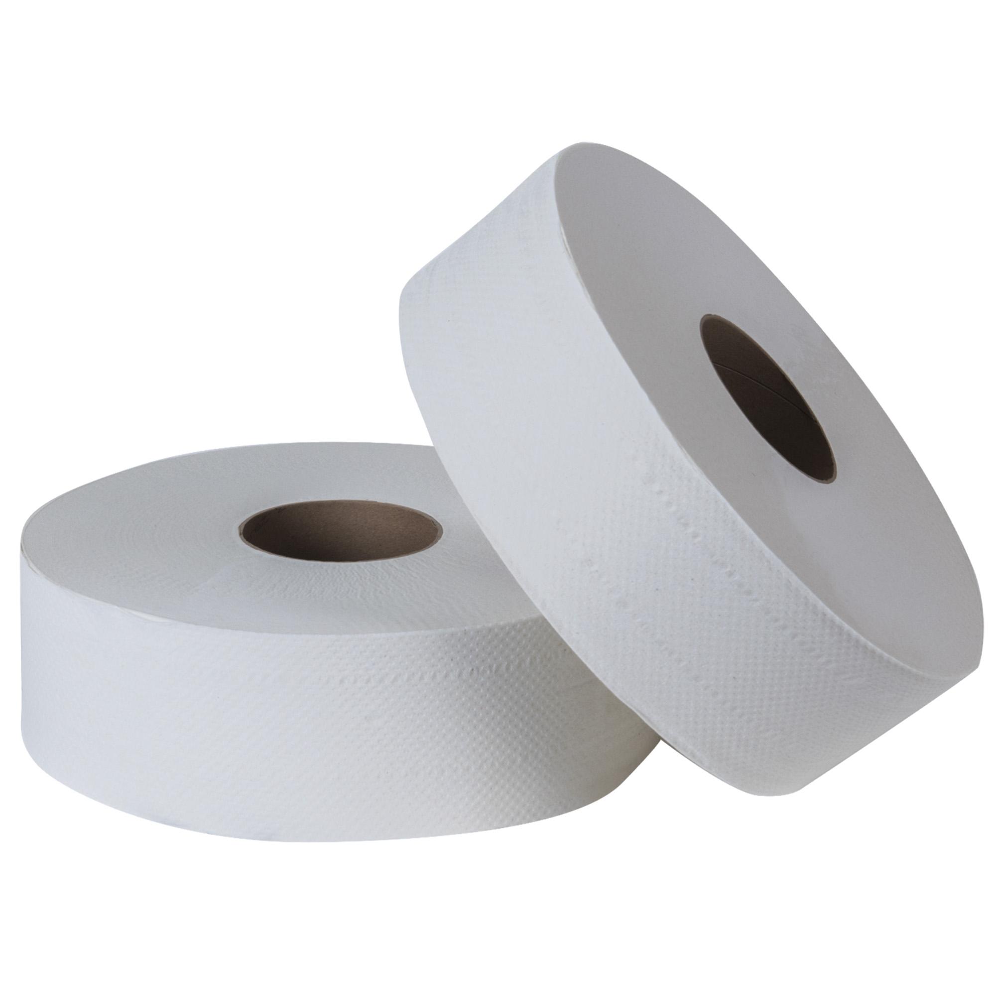 Tork 700153 Higiénico bobina universal hoja sencilla color blanco 400 mts jumbo c/6 1