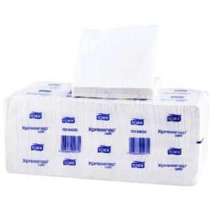 Tork 701340 Servilleta Xpressnap color blanca, caja con 12 paquetes de 500 hojas cada uno