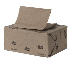Tork 701343 Servilleta Xpressnap color marrón, caja con 12 paquetes de 500 hojas cada uno