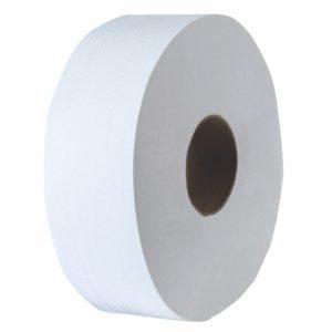 Tork 700526 Higiénico bobina universal institucional hoja sencilla, paquete con 6 rollos de 360 mts cada uno