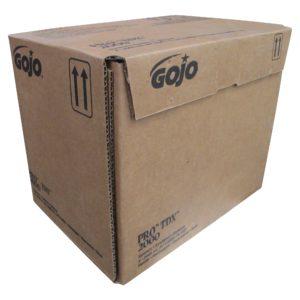 GOJO 7228-04 Crema limpiadora jabonosa para la piel, limpiador de grasas y suciedad incrustada, caja con 4 cartuchos de 2000 ml, aplica despachador Gojo 7200