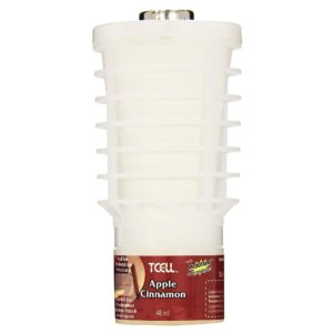 Rubbermaid FG750907 Cartucho repuesto para Ambientador T-Cell, aroma apple cinnamon