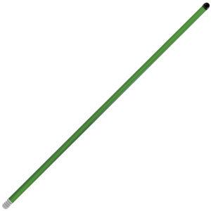 Bastón color verde, lamina reforzada, 1.5 mts