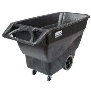 Rubbermaid FG101100BLA carrito de volteo color negro con capacidad para 600 lbs