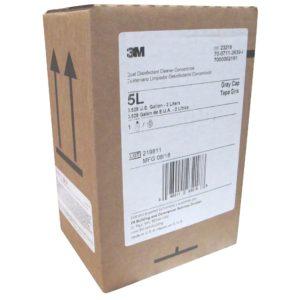 Líquido 5L para sistema Twist & Fill 3M, Limpiador y Desinfectante de Amonio Cuaternario, Rinde 480.747 litros diluidos
