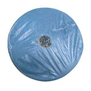 Kimberly clark 33241 Kimtech 1472 toalla wyper extra absorbente en rollo color azul gofrada, paquete con rollo unico de 717 hojas