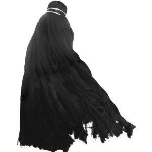 Trapeador color negro de algodón, para tratar