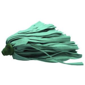 Cabeza de repuesto para trapeador, color verde policlean