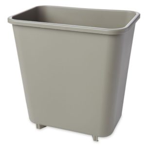 Rubbermaid FG295200BEIG cesto chico con capacidad para 2 galones, color beige