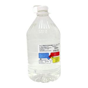 Gel jabón antibacterial, envase con 3.78 litros