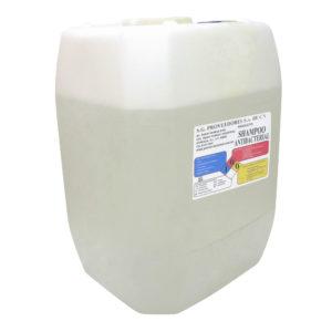 Shampoo antibacterial para manos, envase porrón