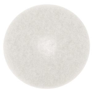 Disco para limpieza, color blanco de 16 pulgadas