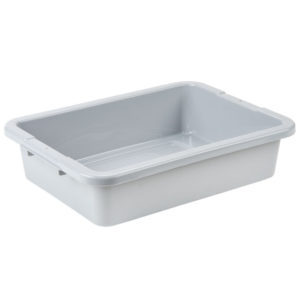 Rubbermaid FG334900GRAY recipiente color gris para lavavajillas, color gris