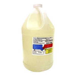 Jabón para manos neutro, envase con 3.78 litros