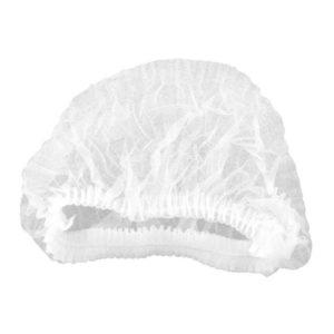Cofia blanca mediana poliking con 100 pzs