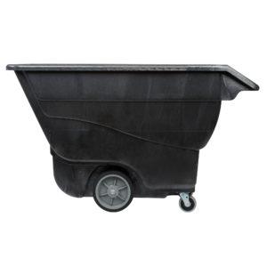 Rubbermaid FG9T1600BLA carrito de volteo color negro con capacidad para 2100 lbs