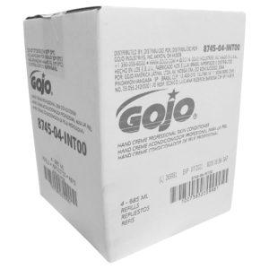 GOJO  8745-04 ADX Acondicionador de piel profesional HAND MEDIC, caja con 4 cartuchos de 685 ml cada uno