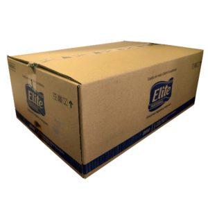 Elite 8910 toalla rollo Excellence diferenciada extra blanca, paquete con 6 rollos de 210 mts cada uno