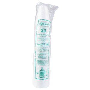 Dart 8j8 Caja de vaso térmico para 8 oz, caja con 1000 piezas en 40 paquetes