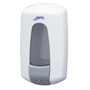 Jofel jabonera Aitana manual ABS AC70000 color blanca