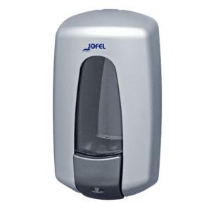 Jofel jabonera Aitana manual ABS AC72000 metalizada
