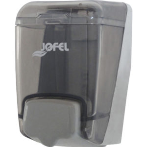 Jofel A85000 Jabonera manual dispensadora de jabón líquido, color humo