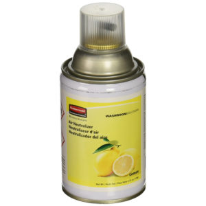 Rubbermaid FG401909 Spray ambientador para dosificador estandár, aroma lemon