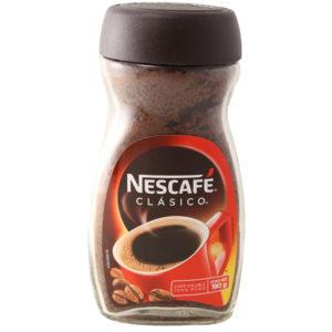 Envase de Nescafe clásico con 190 gr
