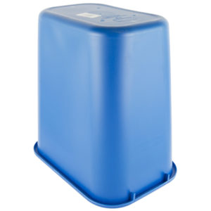 Rubbermaid FG295673BLUE cesto mediano de reciclaje con capacidad para 7 galones, color azul