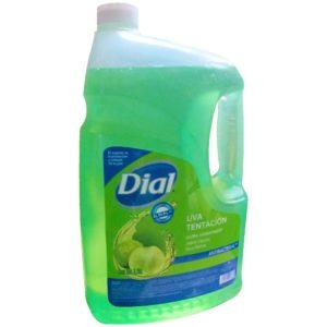 Dial jabón ultra hidratante y desinfectante para manos, aroma a Uva, con 3.78L