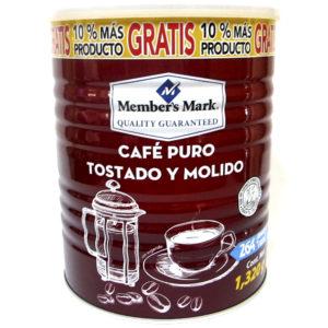 Café marca Member's Mark en lata